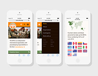 Multinational Force & Observers Website Redesign