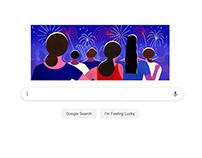 Google Doodle — Bastille Day