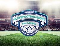 Samsung #LoveFootballMore