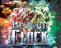 Exco Levi Broken Clock Album Cover Design