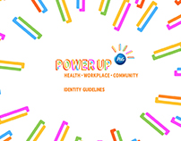 Power Up P&G - naming and identity design