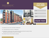 Student Accommodation - Landing Page