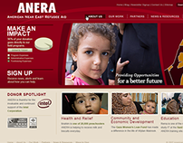 American Near East Refugee Aid Website
