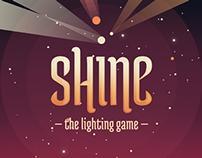 Shine, the lighting game