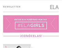 Newletter ELA Girls