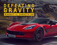 Corvette Defeating Gravity - social videos