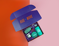 Ride The Wave   Event Identity