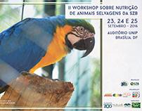 II Workshop sobre Nutrição de Animais Selvagens da SZB