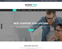 BHOST PRO – Responsive WordPress Theme