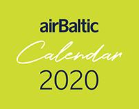 airBaltic calendar 2020