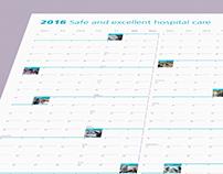 Yukon Hospitals 2016 Wall Calendar