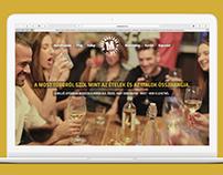 Most Bisztró webdesign