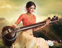 "Goddess ""Saraswati"""