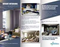 Bright Interiors Leaflet