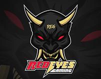Logotipo - Red Eyes Gaming