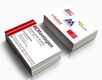 Grafikdesign / Visitenkarten RC Montagen