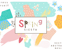 Spring Siesta - Romantic, Abstract