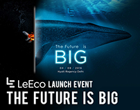 LeEco Launch Event - The Future is BIG