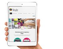Web responsive Drupal Vinylia.es