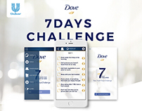 Dove 7 Days Challenge (Mobile App)