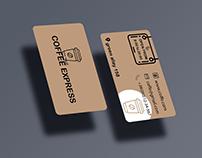 Eco-cafe business card