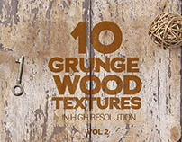 Grunge Wood Textures x10 vol2