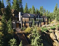 Canada   House in the mountains