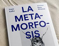 Diseño de portada —La metamorfosis de Franz Kafka