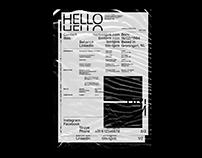 2019 Personal Identity & Resume
