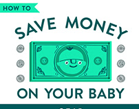Infographic : Save Money on Baby