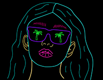 Neon Illustrations