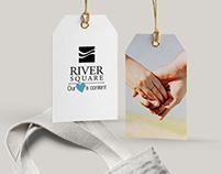River Square Mall branding