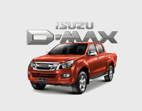 ISUZU D-Max Greek Website