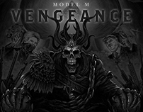Album Cover Artwork: Model M - Vengeance