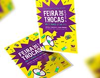Feira de Trocas UNIVALI - Cartaz / Flyer / Rede Social