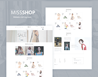 MissShop - Shop Template
