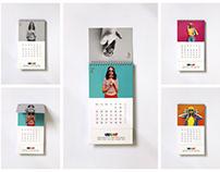 Vibrant Colortech Calendar