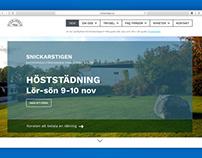 Website. UX / UI Design