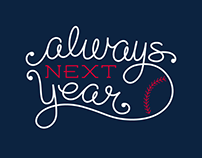 Always Next Year Hand Lettering