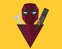 Deadpool architect badge graphic