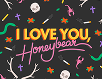 Father John Misty: I Love You, Honeybear Merch