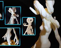 Statuette Femme arbre