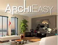 Website and logo for an interior designer