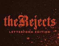 The Rejects Letterform Logo Edition