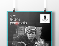 Poster for DJ Pexomatis Lefteris