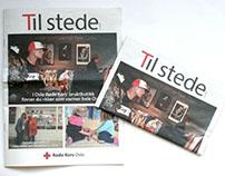 Redesign av Røde Kors avisa i Oslo.