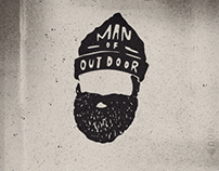 Man of outdoor / Tattoo hand draws