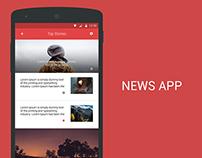 News APP Interface