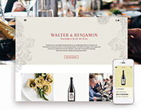 Walter & Benjamin - Website Relaunch, e-commerce, eshop