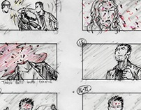 """Blew e-cigs"" Storyboards (parody commercial)"